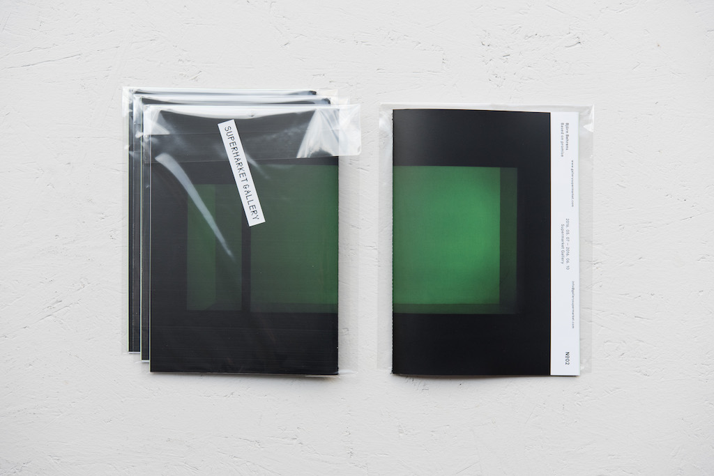 Björn Behrens Based on Promise exhibition catalogue